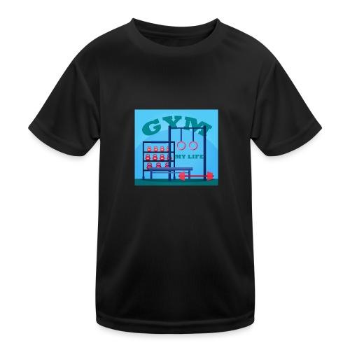 GYM - Lasten tekninen t-paita