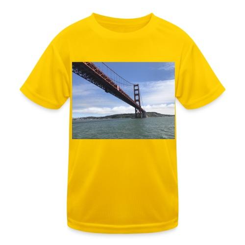 Golden Bro - Funktionsshirt til børn