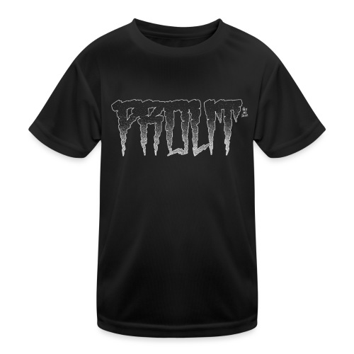Horror PROUT - white - Kids Functional T-Shirt