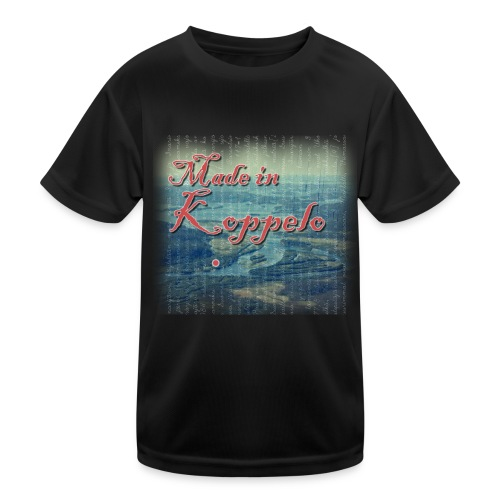 Made in Koppelo lippis - Lasten tekninen t-paita