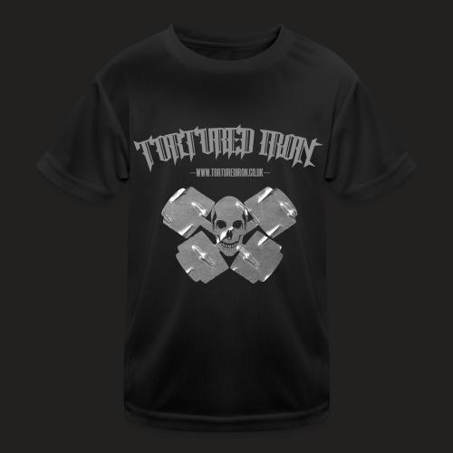 skull - Kids Functional T-Shirt
