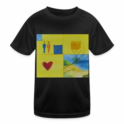 Viererwunsch - Kinder Funktions-T-Shirt