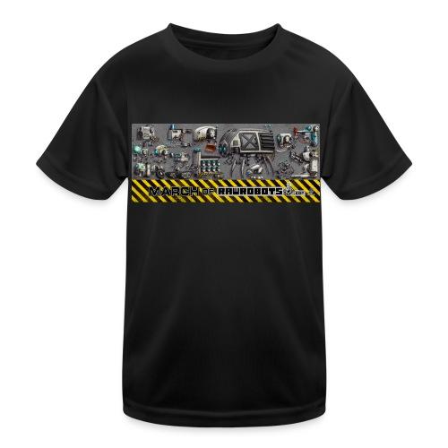 #MarchOfRobots ! LineUp Nr 1 - Funktionsshirt til børn