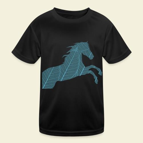 Cheval feuille - T-shirt sport Enfant