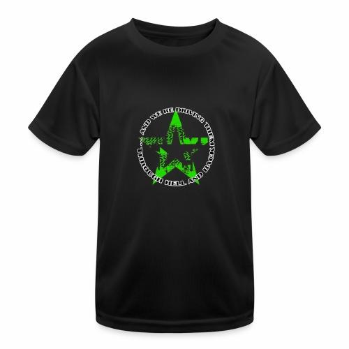 ra star slogan slime png - Kinder Funktions-T-Shirt