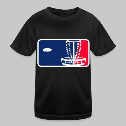 Major League Frisbeegolf - Lasten tekninen t-paita