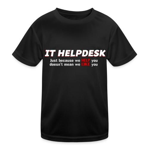 I.T. HelpDesk - Kids Functional T-Shirt