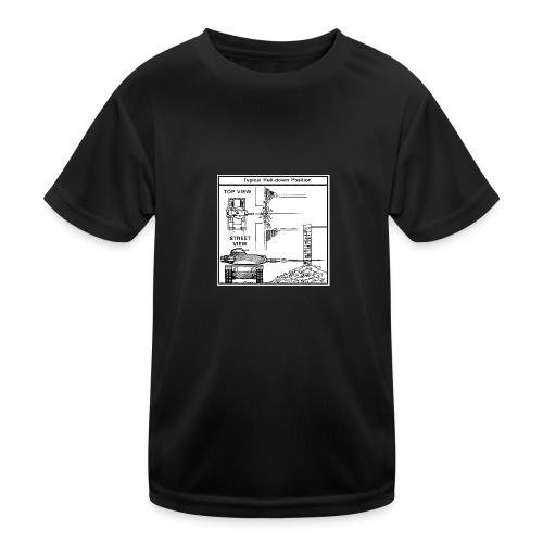 W.O.T War tactic, tank shot - Kids Functional T-Shirt