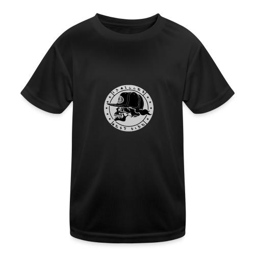 skull 13 milles noir et gris super design - T-shirt sport Enfant