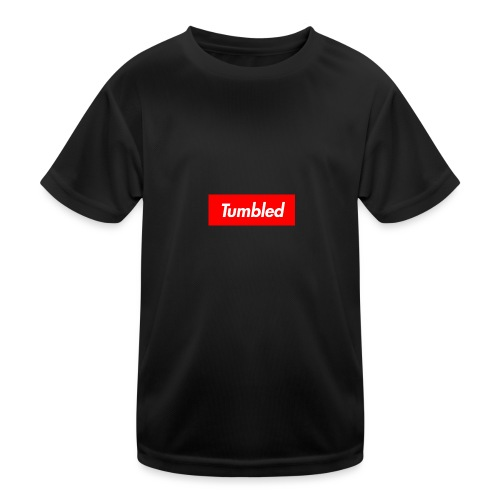 Tumbled Official - Kids Functional T-Shirt