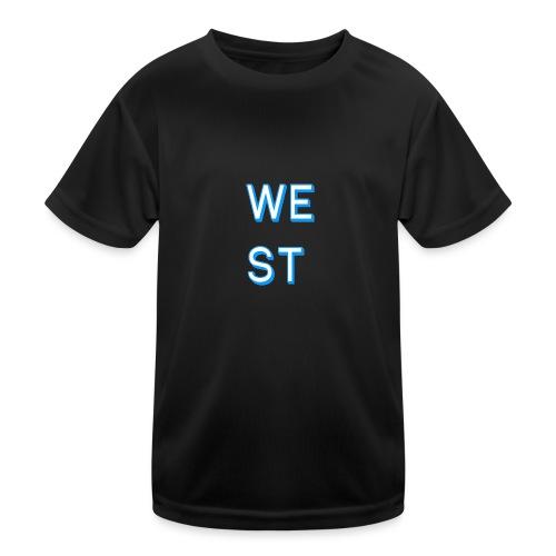 WEST LOGO - Maglietta sportiva per bambini