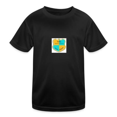STG Vienna Kickers Logo - Kinder Funktions-T-Shirt