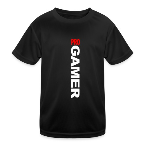 Pro Gamer (weiss) - Kinder Funktions-T-Shirt