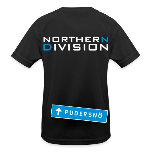 pudersn_2vari - Lasten tekninen t-paita