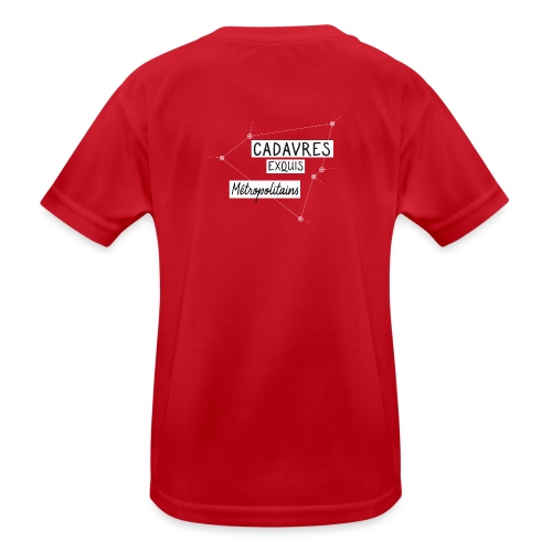 Cadavres Exquis Métropolitains - T-shirt sport Enfant