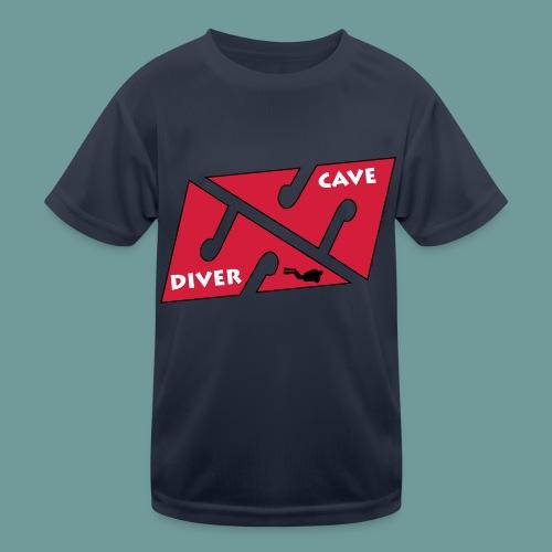 cave_diver_01 - T-shirt sport Enfant