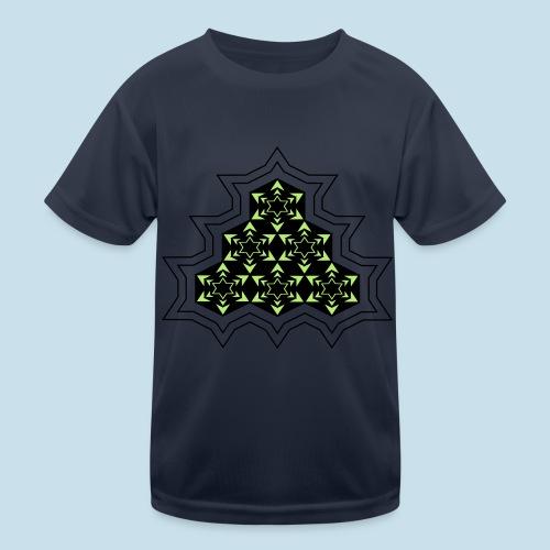 Stern - Kinder Funktions-T-Shirt