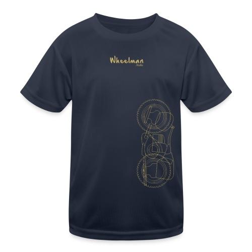 wheelman - Maglietta sportiva per bambini