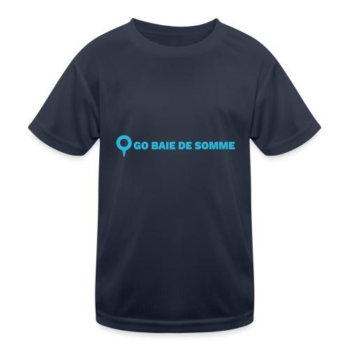 LOGO Go Baie de Somme - T-shirt sport Enfant