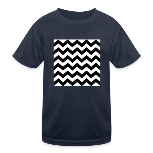 zigzag png - T-shirt sport Enfant