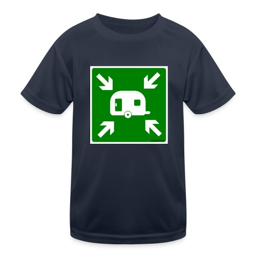 Meeting Point Caravan - Kinder Funktions-T-Shirt