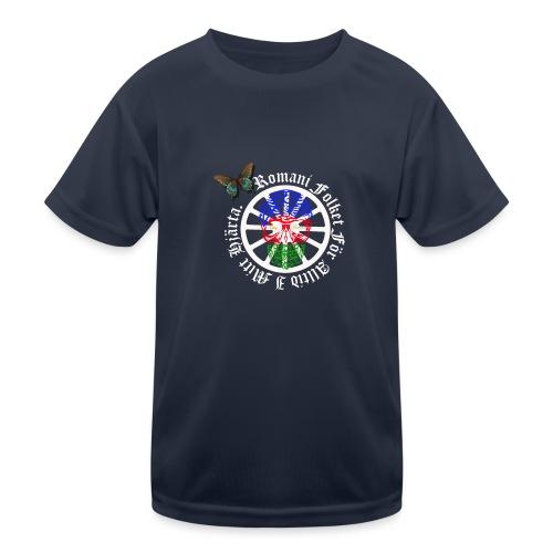 LennyhjulRomaniFolketivitfjerliskulle - Funktions-T-shirt barn
