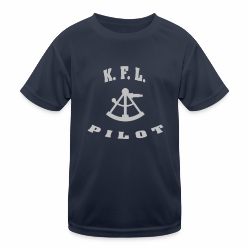 KFL_Back - Funktionsshirt til børn