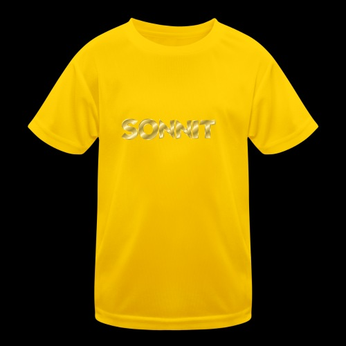 Sonnit Gold Plated Limited Edition - Kids Functional T-Shirt
