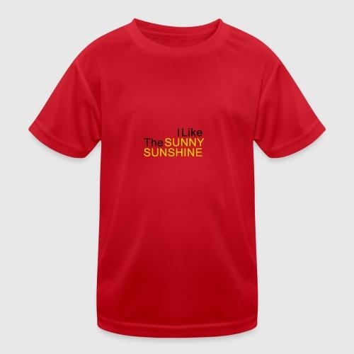 Sunny Sunshine... - Functioneel T-shirt voor kinderen
