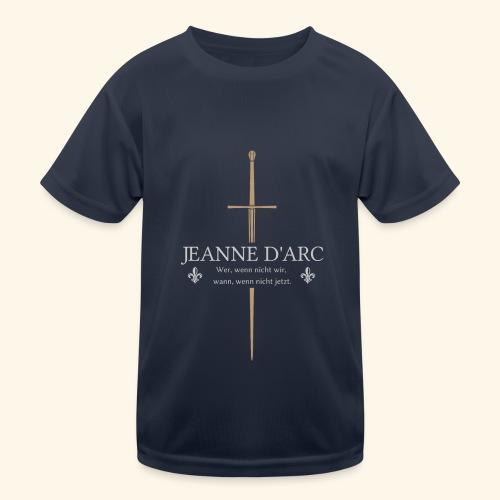 Jeanne d arc - Kinder Funktions-T-Shirt