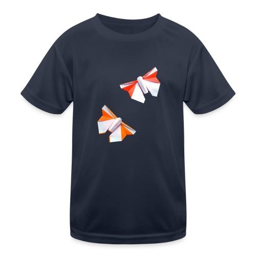 Butterflies Origami - Butterflies - Mariposas - Kids Functional T-Shirt