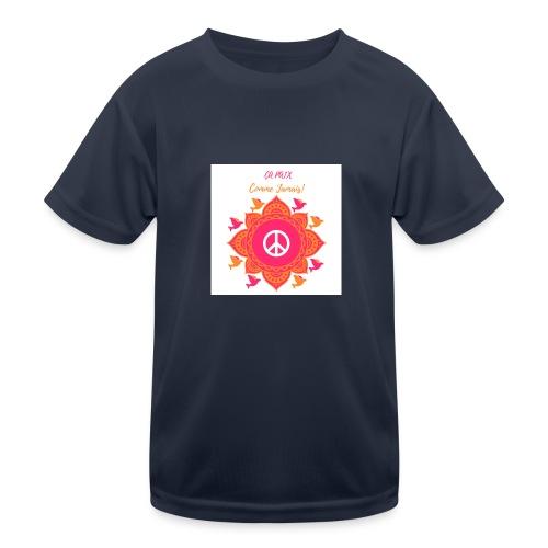 Ca paix comme jamais! - T-shirt sport Enfant