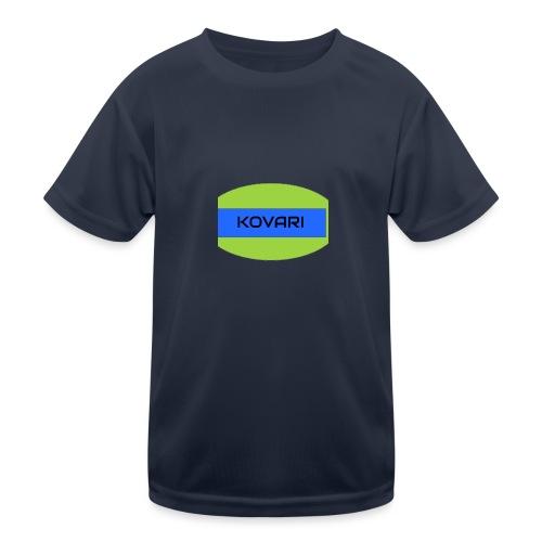 Kovari Logo - Lasten tekninen t-paita