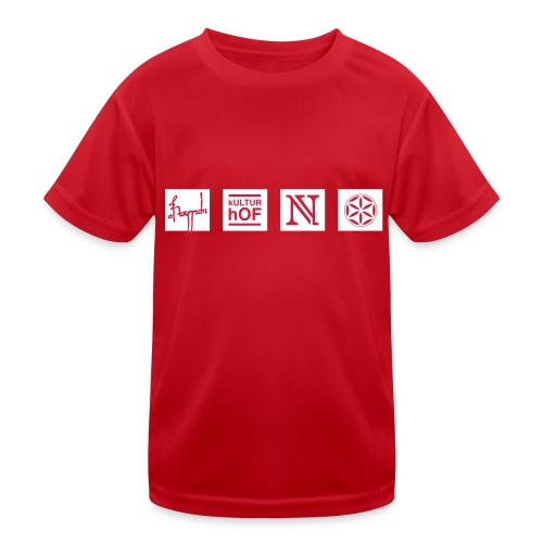 4bereiche - Kinder Funktions-T-Shirt