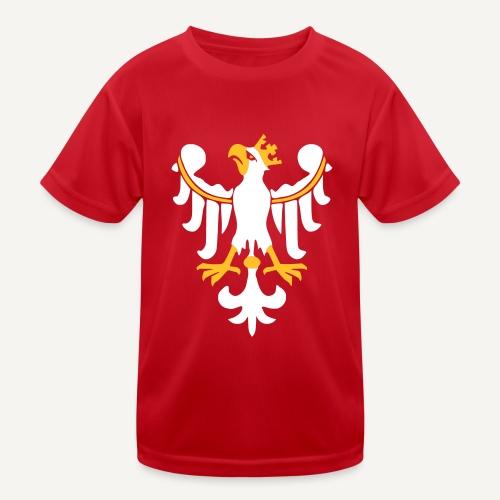 Orzeł Piastowski - Funkcjonalna koszulka dziecięca