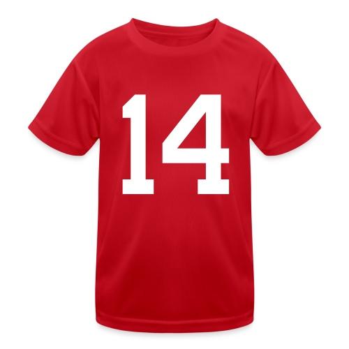 14 HEINRICH Michael - Kinder Funktions-T-Shirt