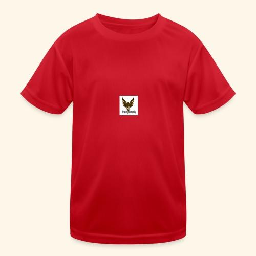 feeniks logo - Lasten tekninen t-paita