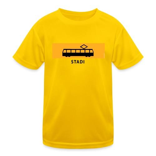 RATIKKA PYSÄKKI KYLTTI STADI T-paidat ja vaatteet - Lasten tekninen t-paita