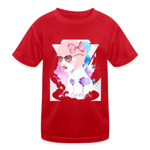 Le coeur - T-shirt sport Enfant