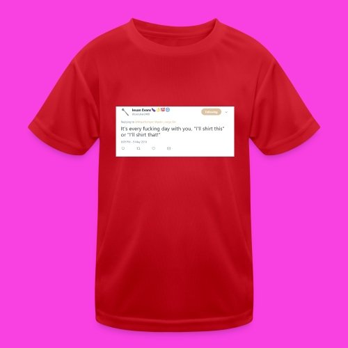 Ieuan Tweet - Kids Functional T-Shirt