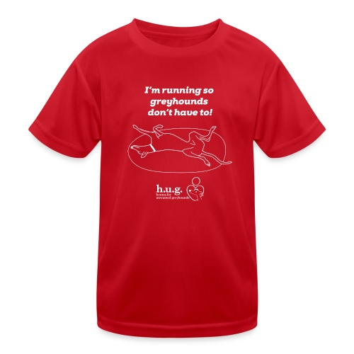 HUG Running Shirt - Kids Functional T-Shirt