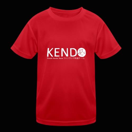 Finnish Kendo Team Text - Lasten tekninen t-paita