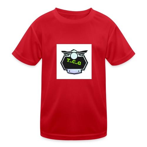 Cool gamer logo - Kids Functional T-Shirt