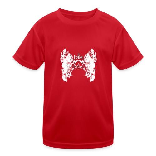 Oxygène blanc - T-shirt sport Enfant