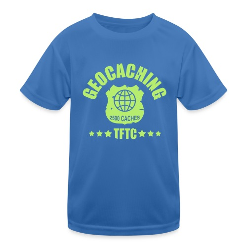 geocaching - 2500 caches - TFTC / 1 color - Kinder Funktions-T-Shirt