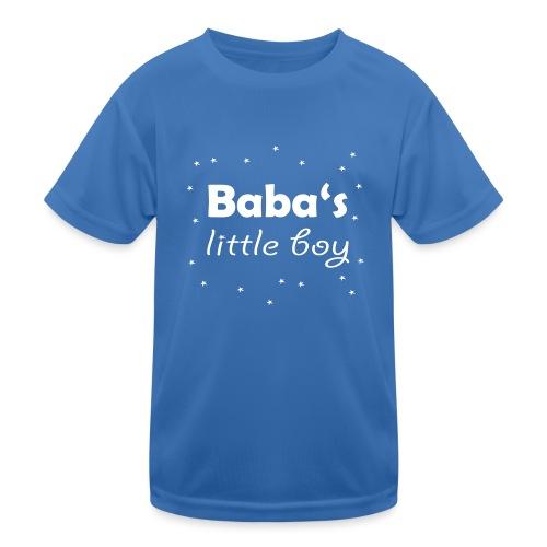 Baba's litte boy Babybody - Kinder Funktions-T-Shirt