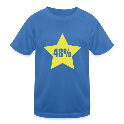48% in Star - Kids Functional T-Shirt