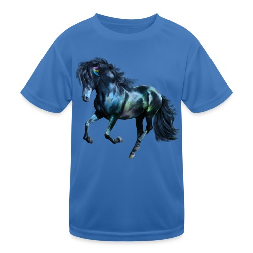 The Blue Horse - Kinder Funktions-T-Shirt