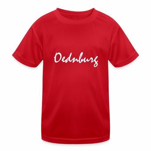 Oednburg Wit - Functioneel T-shirt voor kinderen