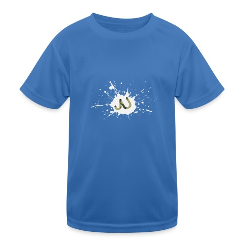 logo2 6 pinkki - Lasten tekninen t-paita